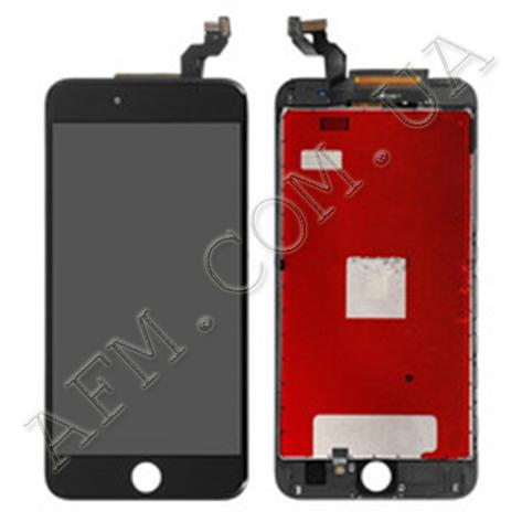 Дисплей (LCD) iPhone 6S Plus с сенсором чёрный, фото 2