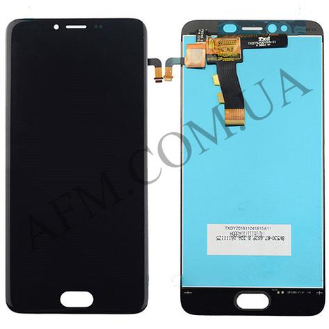Дисплей (LCD) Meizu M5/  M5 mini с сенсором чёрный, фото 2