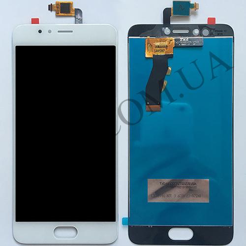 Дисплей (LCD) Meizu M5s/  M5s mini с сенсором белый