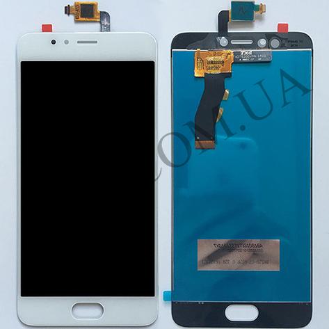 Дисплей (LCD) Meizu M5s/  M5s mini с сенсором белый, фото 2