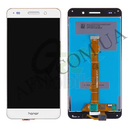 Дисплей (LCD) Huawei Y6 II (CAM- L21)/  Honor 5A (CAM- AL00) с сенсором белый