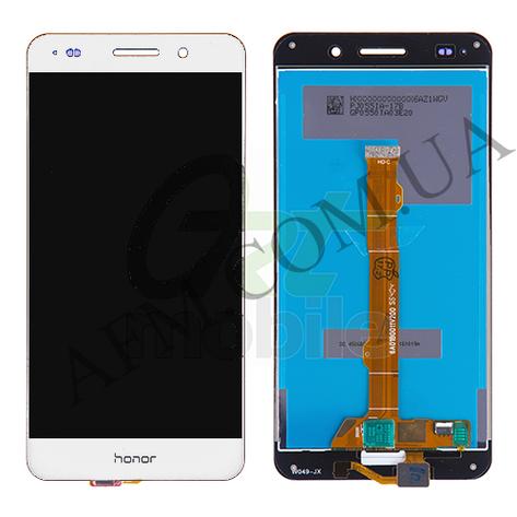 Дисплей (LCD) Huawei Y6 II (CAM- L21)/  Honor 5A (CAM- AL00) с сенсором белый, фото 2