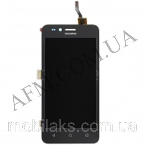 Дисплей (LCD) Huawei Y3 II 2016/  LUA- U03/  U22/  U23/  L03/  L13/  L23 с сенсором чёрный (версия 3G)