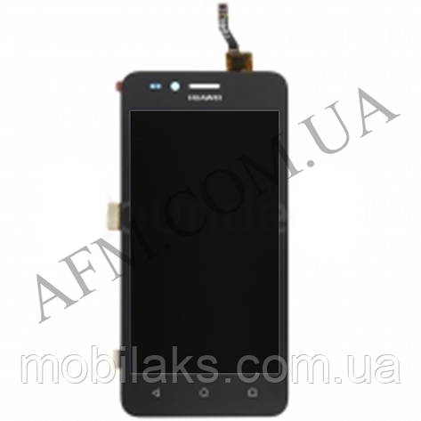 Дисплей (LCD) Huawei Y3 II 2016/  LUA- U03/  U22/  U23/  L03/  L13/  L23 с сенсором чёрный (версия 3G), фото 2