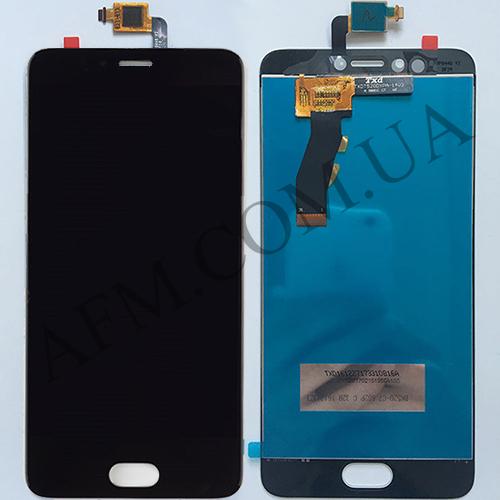 Дисплей (LCD) Meizu M5s/  M5s mini с сенсором чёрный