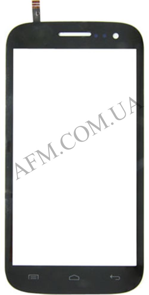 Сенсор (Touch screen) Fly IQ451Q Quattro Vista чёрный