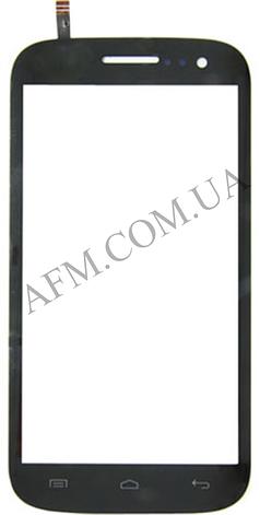 Сенсор (Touch screen) Fly IQ451Q Quattro Vista чёрный, фото 2