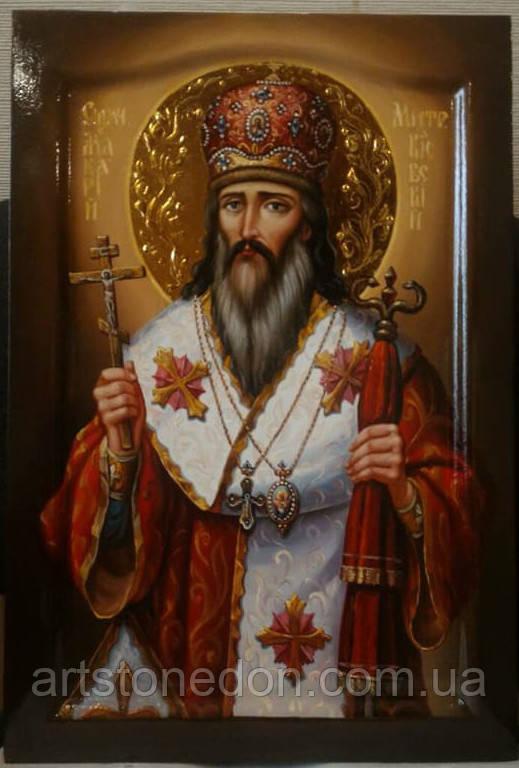 Икона писаная Священномученик Макарий, митрополит Киевский