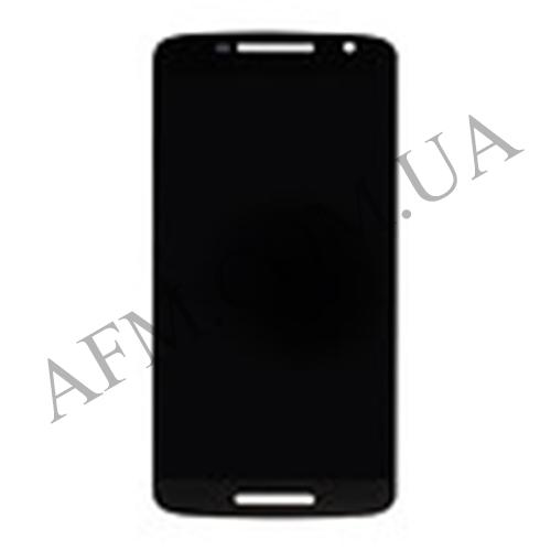 Дисплей (LCD) Motorola XT1561 Moto X Play/  XT1562/  /  XT1563/  XT1564 с сенсором чёрный