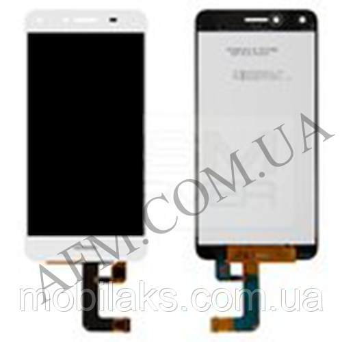 Дисплей (LCD) Huawei Y5 II (CUN- U29/  Honor 5/  Honor Play 5) с сенсором белый (версия 3G)