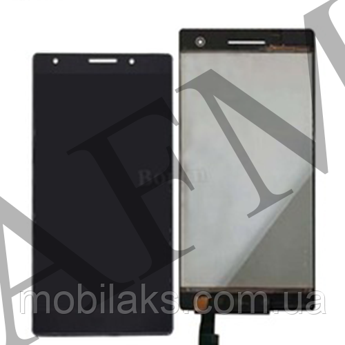 Дисплей (LCD) Lenovo Phab 2 Pro с сенсором чёрный