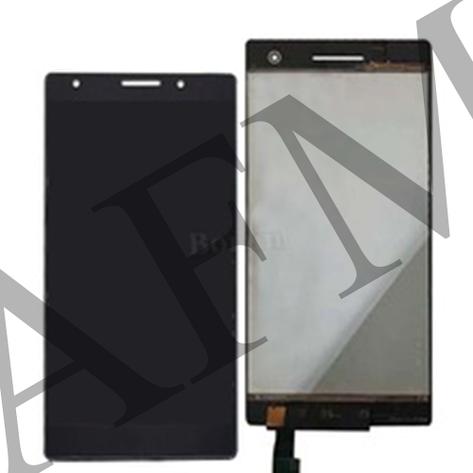 Дисплей (LCD) Lenovo Phab 2 Pro с сенсором чёрный, фото 2