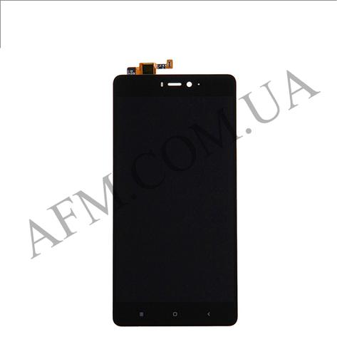 Дисплей (LCD) Xiaomi Mi4s с сенсором чёрный, фото 2