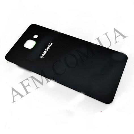 Задняя крышка Samsung A510F Galaxy A5/  A510FD/  A510M/  A510Y/  A5100 (2016) чёрная оригинал, фото 2