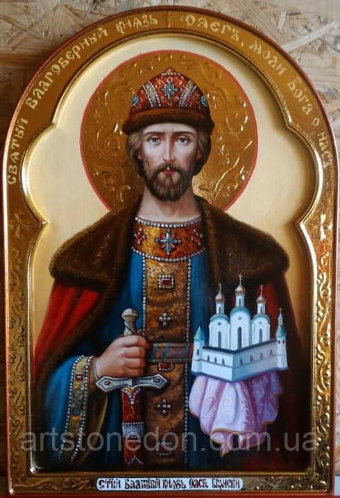 Икона писаная Святой Олег Брянский