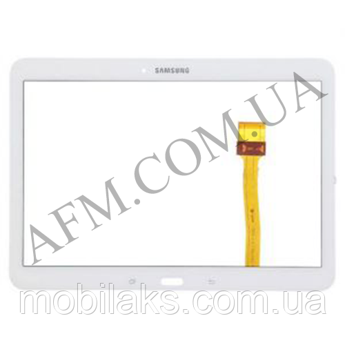 "Сенсор (Touch screen) Samsung T530/  T531 Galaxy Tab 4 10.1"" белый оригинал"