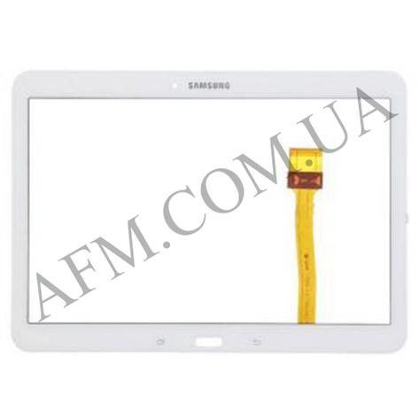 "Сенсор (Touch screen) Samsung T530/  T531 Galaxy Tab 4 10.1"" белый оригинал, фото 2"
