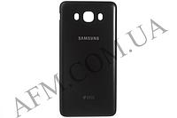 Задняя крышка Samsung J710F Galaxy J7 2016 чёрная оригинал