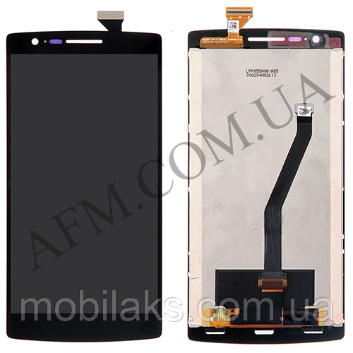 Дисплей (LCD) OnePlus One/  A0001 с сенсором чёрный оригинал