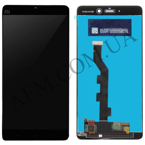 Дисплей (LCD) Xiaomi Mi Note Pro с сенсором чёрный
