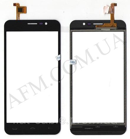 Сенсор (Touch screen) Ergo A503 чёрный, фото 2