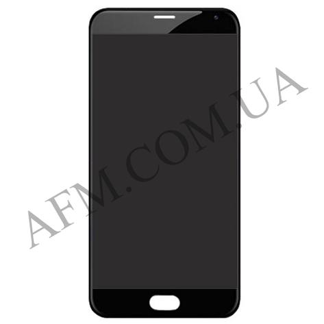 Дисплей для Meizu Pro 6 (M570H) /Pro 6s + touchscreen, черный, Amoled, оригинал, фото 2
