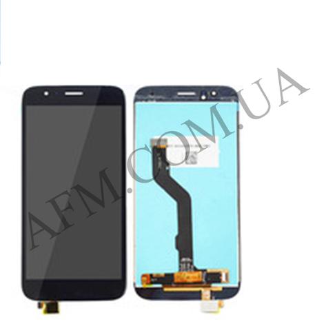 Дисплей (LCD) Huawei GX8/  G8 с сенсором чёрный, фото 2