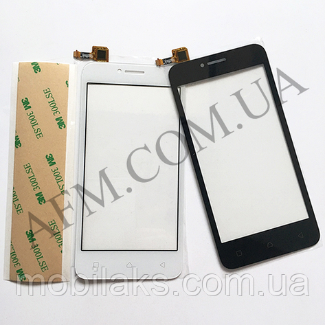 Сенсор (Touch screen) Lenovo A1010 A20 A PLUS белый, фото 2