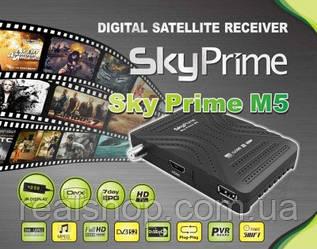 SkyPrime M5 HD ресивер  + бесплатная прошивка!