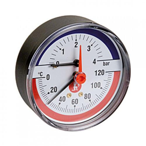 """Термоманометр 1/2"""" 4 bar R226Y001 Giacomini"""