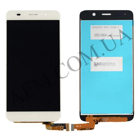 Дисплей (LCD) Huawei Honor 4A/  Y6 с сенсором белый, фото 2