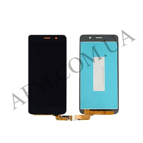 Дисплей (LCD) Huawei Honor 4A/  Y6 с сенсором чёрный, фото 2