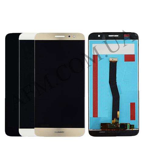 Дисплей (LCD) Huawei Nova Plus с сенсором золотой, фото 2