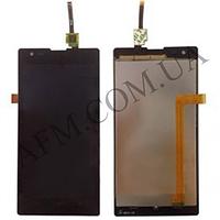 Дисплей (LCD) Xiaomi Red Rice 1S с сенсором чёрный