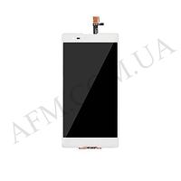 Дисплей (LCD) Sony D5303 Xperia T2 Ultra/  D5322 Xperia T2 Ultra Dual с сенсором белый
