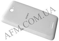 Задняя крышка Sony E2104 Xperia E4 E2105/  E2115/  E2124 белая оригинал