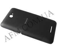 Задняя крышка Sony E2104 Xperia E4 E2105/  E2115/  E2124 чёрная оригинал