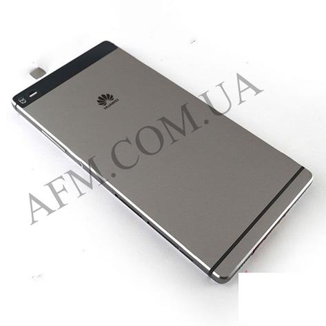 Задняя крышка Huawei P8 (GRA- L09/  GRA- UL00) серая, фото 2