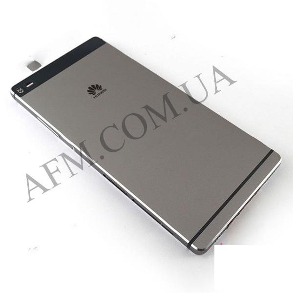 Задняя крышка Huawei P8 (GRA- L09/  GRA- UL00) серая