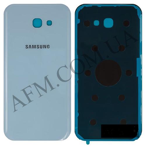 Задняя крышка Samsung A720F Galaxy A7 (2017) голубая оригинал