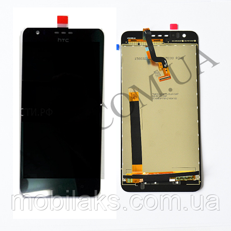 Дисплей (LCD) HTC 10 Desire Compact/  825 Desire с сенсором чёрный, фото 2