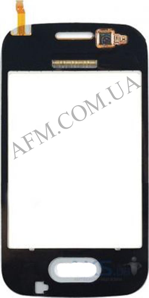 Сенсор (Touch screen) Samsung G110/  G110B/  G110F/  G110M Galaxy Pocket 2 Duos чёрный оригинал