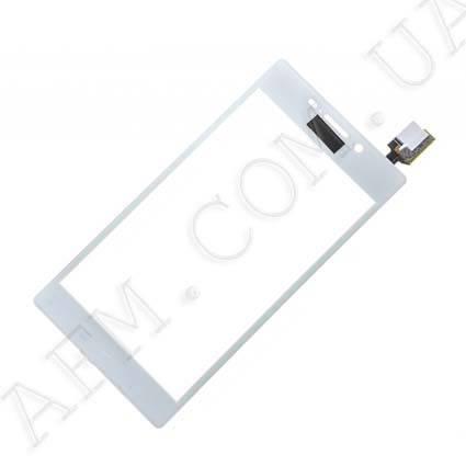 Сенсор (Touch screen) Sony D2302/  D2303/  D2305/  D2306 Xperia M2 белый оригинал, фото 2