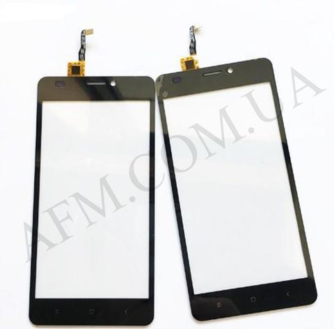 Сенсор (тачскрин) Bravis A503 Joy Dual Sim, Oukitel C3, S-TELL M510, Black, фото 2
