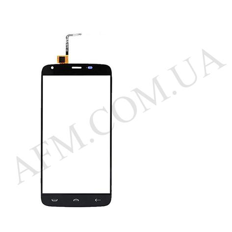 Сенсор (Touch screen) Doogee (HomTom) HT6/  HT6 Pro чёрный, фото 2
