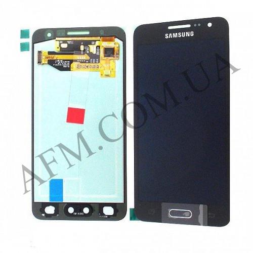 Дисплей (LCD) Samsung A300F Galaxy A3/  A300FU/  A300H (2015) TFT с сенсором чёрный