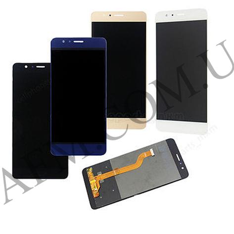 Дисплей (LCD) Huawei Honor 8 (FRD- L09/  FRD- L19)/  Standard Edition/  Premium Editio с сенсором чёрный, фото 2