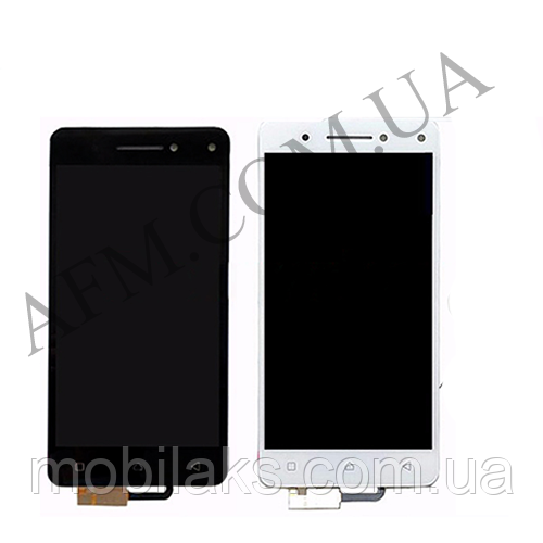 Дисплей (LCD) Lenovo Vibe S1 Lite с сенсором чёрный