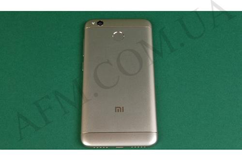 Задняя крышка Xiaomi Redmi 4X золотая
