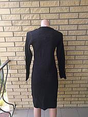 Свитер женский удлиненный, платье вязаное IRMAK TRIKO, Турция, фото 3